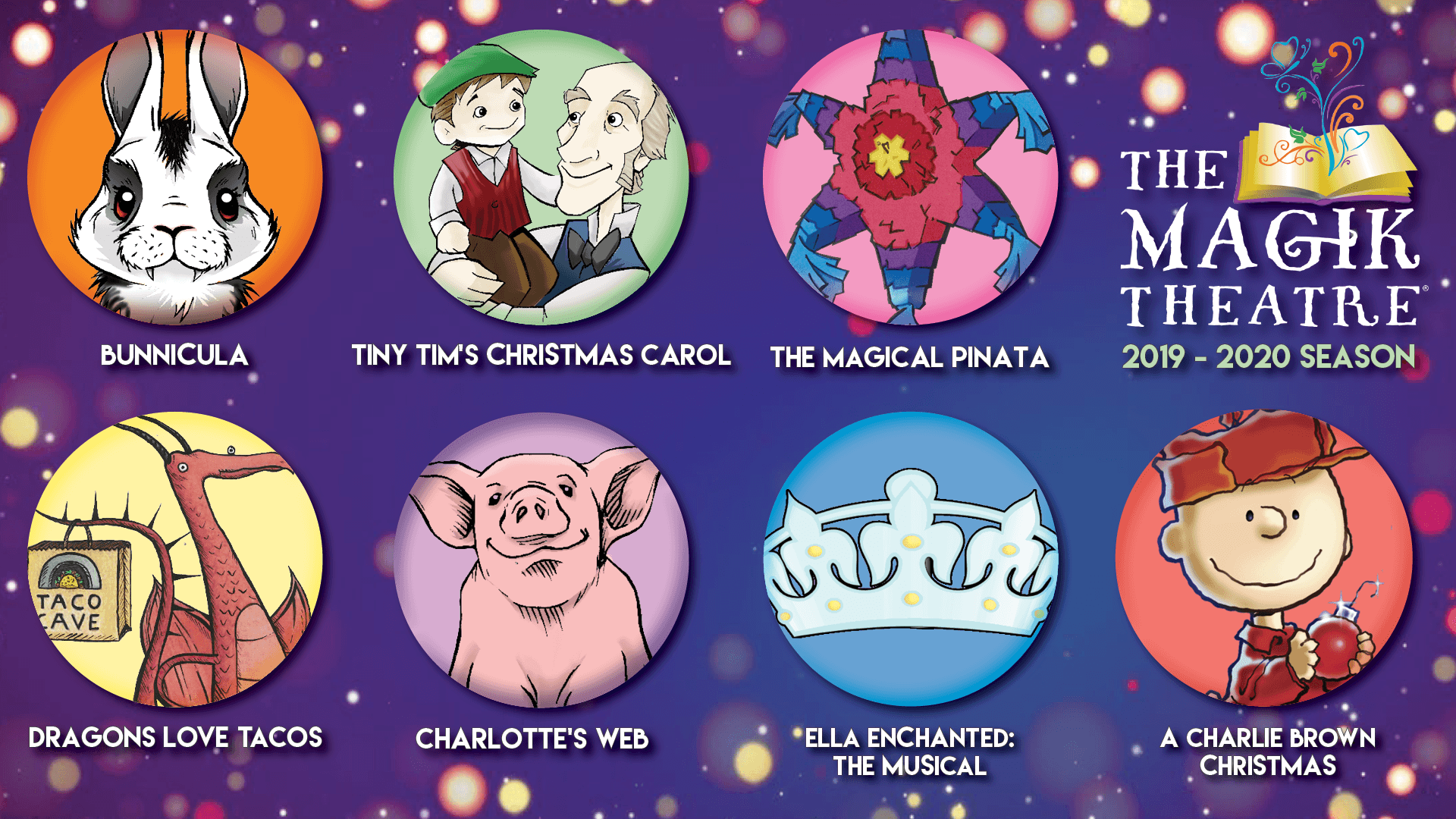 Charlie Brown Christmas Air Date 2019.The Magik Theatre Showtimes And Purchase Tickets